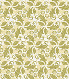 Floral Fine Seamless Vector Pattern Stock Photos