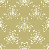 Floral Fine Seamless Vector Pattern Royalty Free Stock Photo