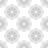 Floral Fine Seamless Vector Pattern Royalty Free Stock Image