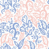 Floral flourish ornament. Abstract seamless pattern, floral flourish ornament, vector illustration royalty free illustration