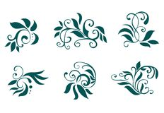 Floral and flower decorations Royalty Free Stock Photo