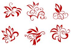 Floral and flower decorations Royalty Free Stock Photos