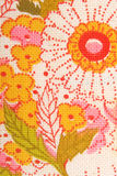 Floral flowers fabric Royalty Free Stock Images