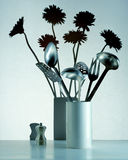 Floral Flowers Utensils Royalty Free Stock Photos