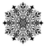 Floral Forged Round Ornament Stock Photos