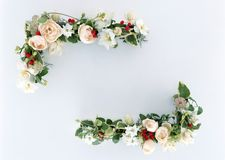 Floral Frame-12 Stock Photos