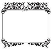 Floral Frame royalty free illustration