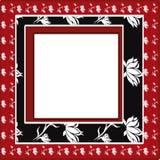Floral frame. Stock Photos