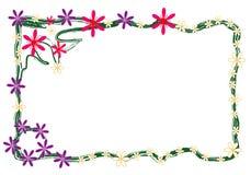 Floral frame, Stock Images