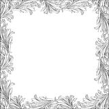 Floral frame. Royalty Free Stock Photos