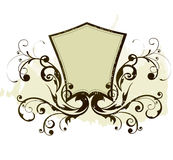 Floral frame. Illustration drawing of floral frame Royalty Free Stock Photo