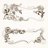 Floral_frame Stock Images