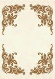 Floral frame. Elegant floral frame. Vector illustration Royalty Free Stock Photos