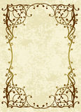 Floral frame. Royalty Free Stock Images