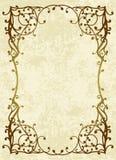 Floral frame. Elegant floral frame. Vector illustration Royalty Free Stock Images