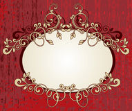 Floral frame Stock Images