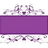 Floral frame background Royalty Free Stock Photography
