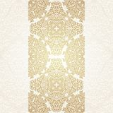 Floral frame background in arabic motif Stock Images