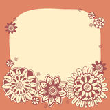 Floral Frame Background Royalty Free Stock Photo