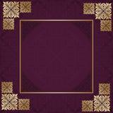 Floral frame. Royalty Free Stock Photos