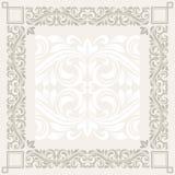 Floral frame. Floral border. Abstract flower beckground Stock Images