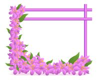 Floral frame, cdr vector stock photos