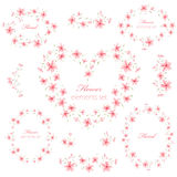 Floral Frame Collection 2 Royalty Free Stock Image