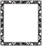 Floral frame. Floral decorative frame. Vector illustration Royalty Free Stock Images