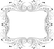 Floral frame, element for design, vector Royalty Free Stock Photo