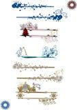 Floral frame elements. Lots of design floral vector frame elements stock illustration