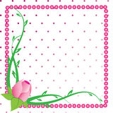 Floral Frame Illustration Stock Images
