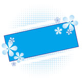 Floral Frame Illustration Royalty Free Stock Image