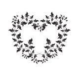 Floral frame - Illustration Stock Image