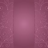 Floral frame. Pattern with flowers floral style Stock Photo