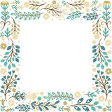 Floral frame, place for your text Stock Image