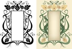 Floral frame vector Royalty Free Stock Photos