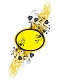 Floral frame, vector Stock Photo