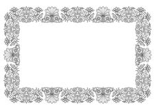 Floral frame vector Stock Images