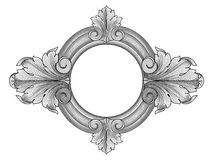 Floral frame vector Stock Photos