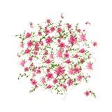 Floral frame for your design Stock Image