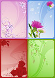 Floral_frames Royalty Free Stock Photography