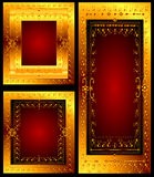 Floral frames Stock Photography