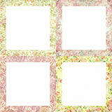 Floral frames Royalty Free Stock Image