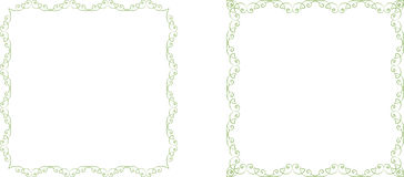 Floral frames Royalty Free Stock Photo