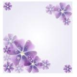 Floral-fundo Fotos de Stock Royalty Free
