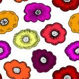 Floral génial simple illustration de vecteur