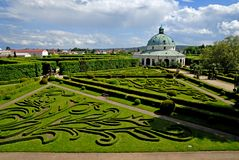 Floral Garden, Kromeriz Royalty Free Stock Photo