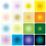 Floral Geometric royalty free stock photography