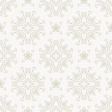 Floral geometric seamless vector pattern background vector illustration. Stock Images