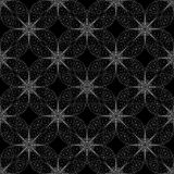 Floral and geometrical pattern Royalty Free Stock Photography